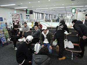 修学旅行1日目 長崎空港 写真①