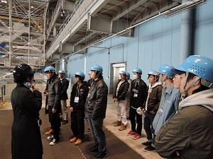 ANA機体工場見学 写真⑥